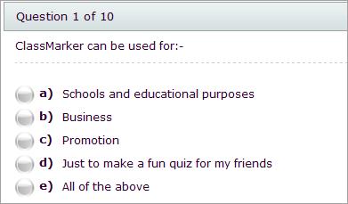 multiple choice question maker