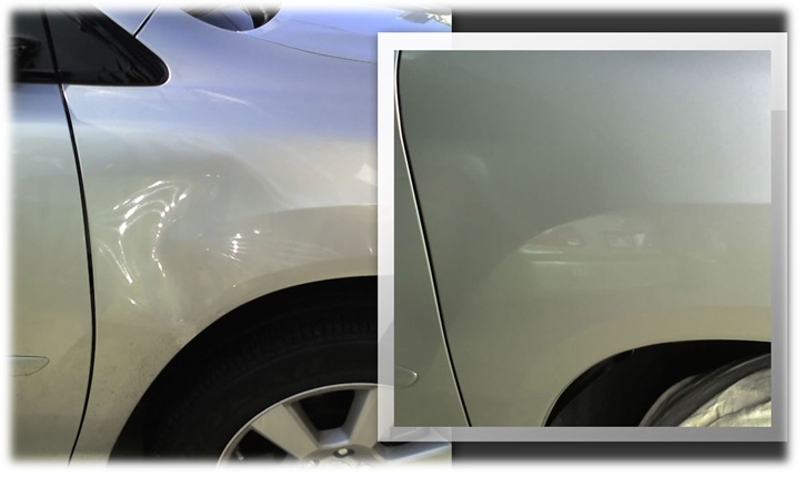 car painting complete body denting quality rubbing polishing full car ...