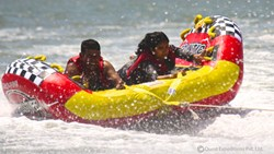 water sports in malvan,bumper ride, water rides in malvan