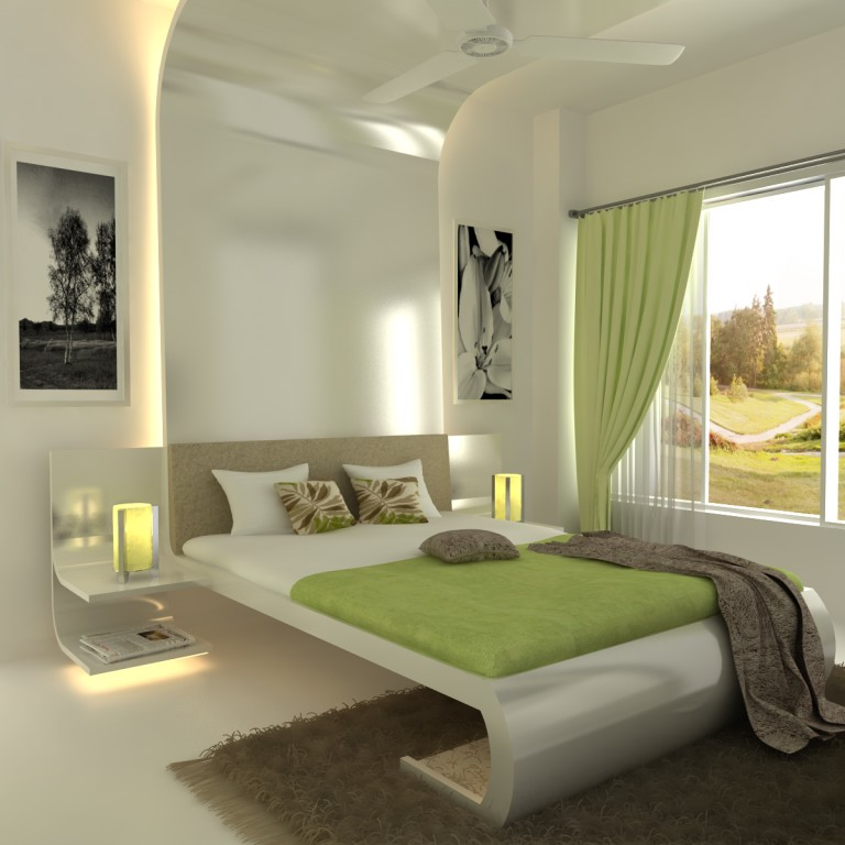 Sdg india mumbai interior designers contact for Bedroom interior design india
