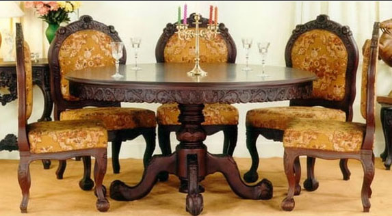 Traditional Indian Dining Table