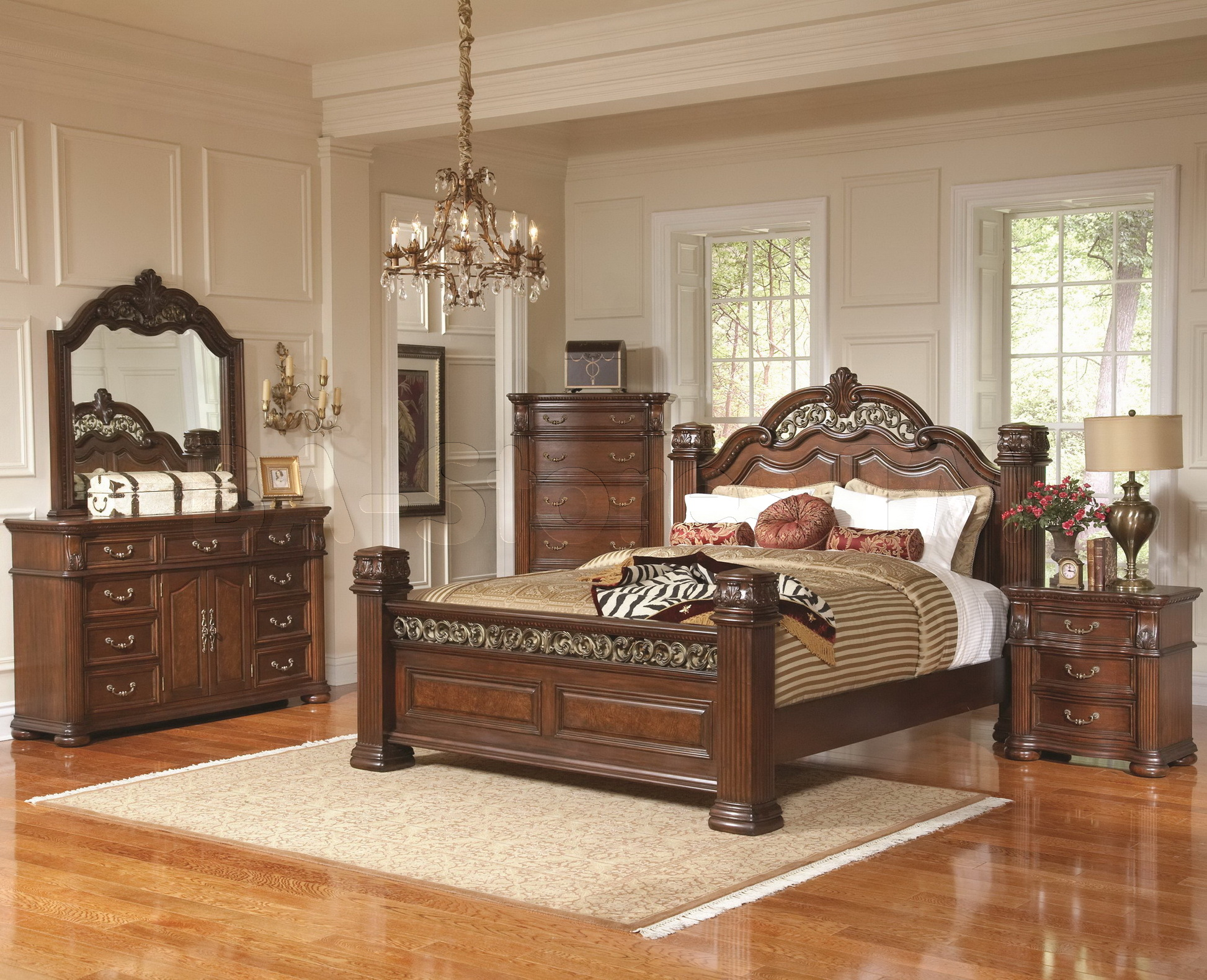 Royal Indian Bedroom Set