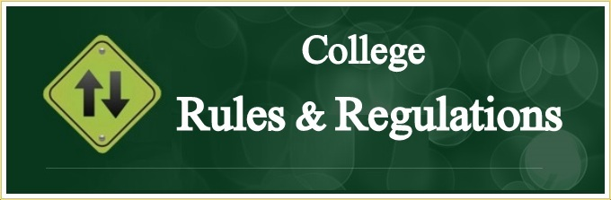 College Rules & Regulations
