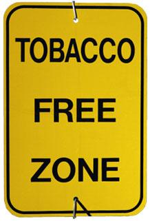 Tobacco Free Campus Zone