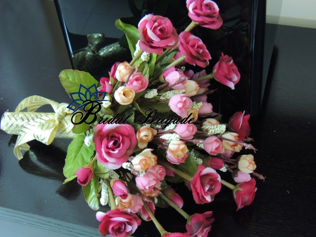 artificial bridal bouquets from Bridal Brigade