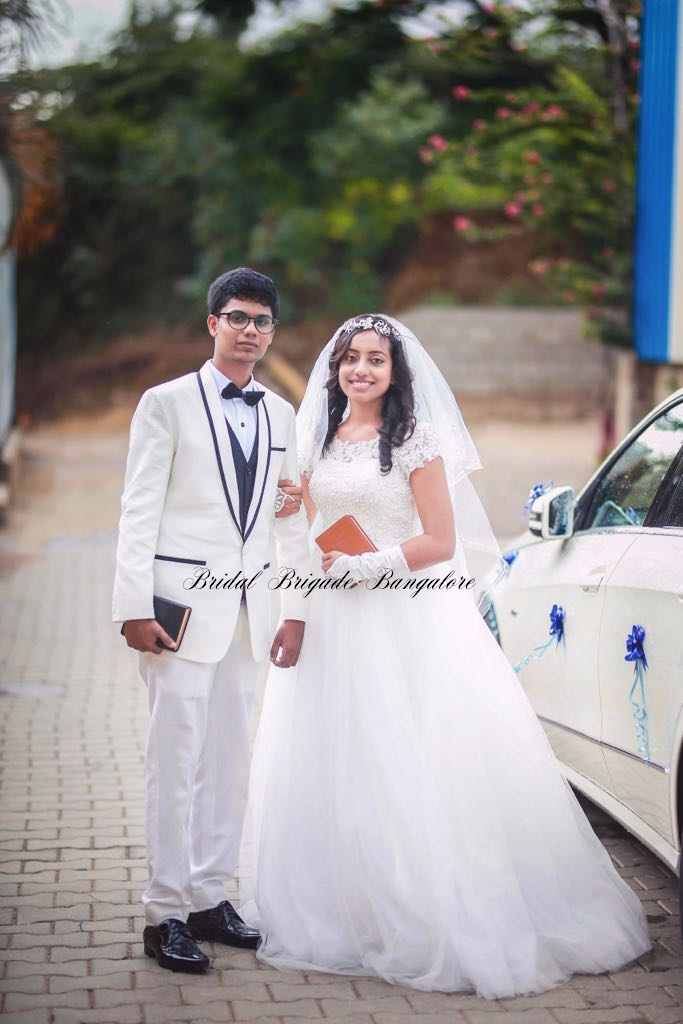 bridal gown in Bangalore