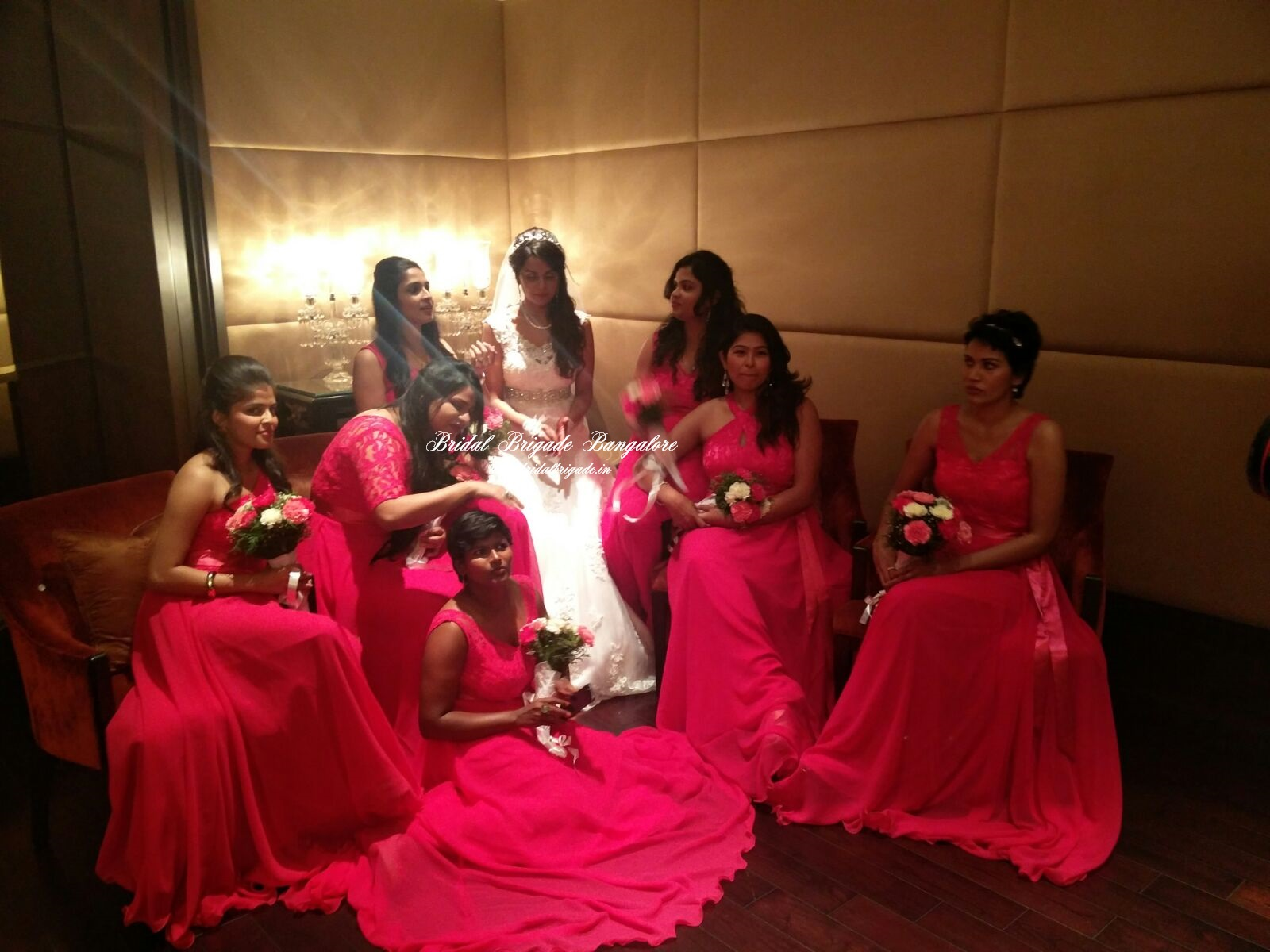 Western Bridesmaid Gowns in Bangalore