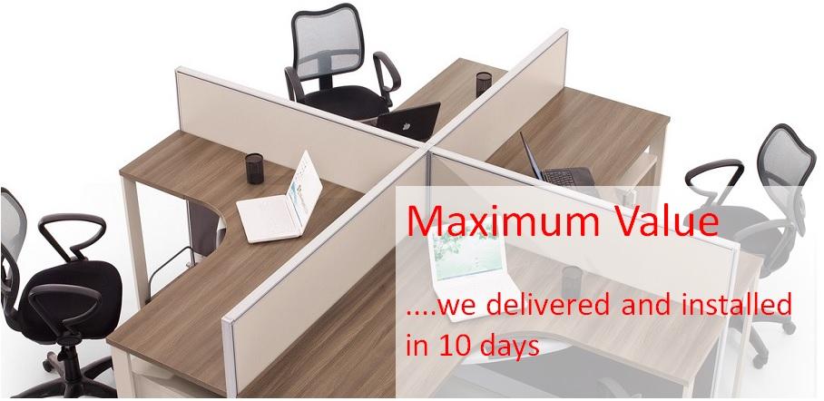 Ready Made Office Furniture India Delhi