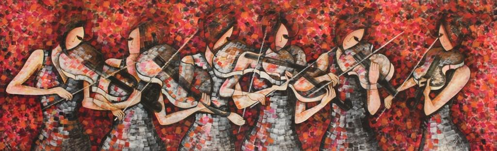 Pulse, Paintings by Sarang