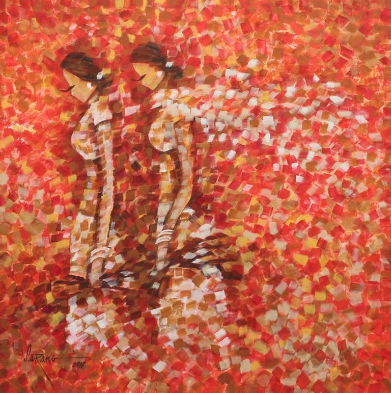 Shimmer, painting by sarang