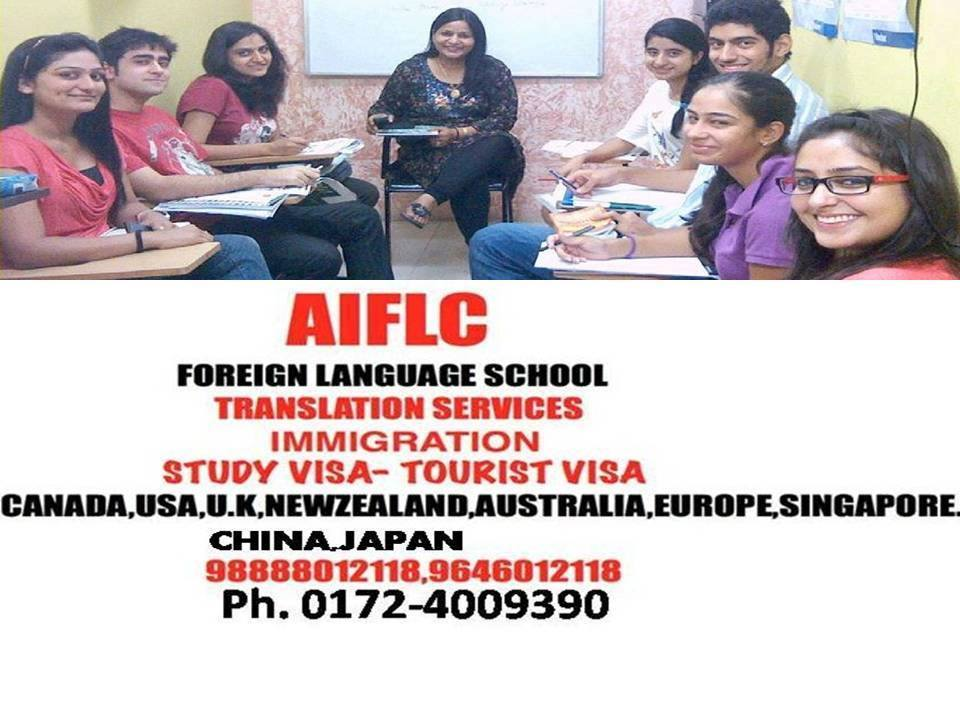 study visa usa,study visa newzeland,study visa europe,study visa canada,study visa australia, study visa canada,learn french,german,chinese,spanish,italian,japanese,thai,swedish,danish,dutch,finnish,norweigian langugaes in chandigarh