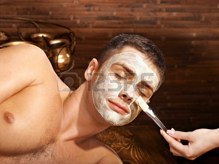 Go Back > Gallery For > Spa Facial Mask Men