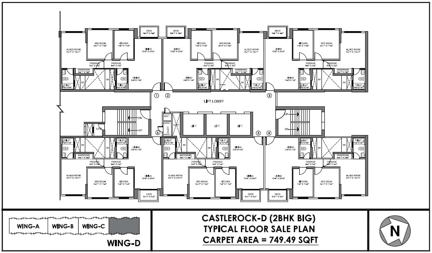 castle rock floor plan