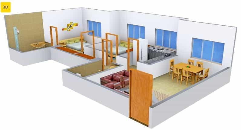 Hiranandani atlantis floor plan