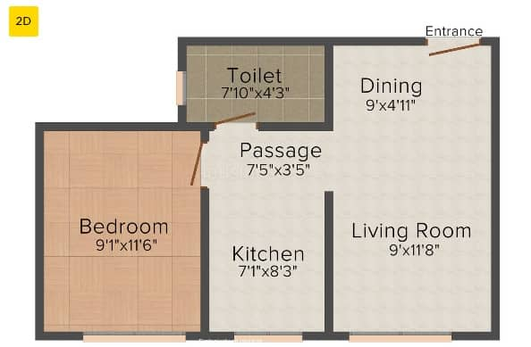 Hiranandani maple floor plan