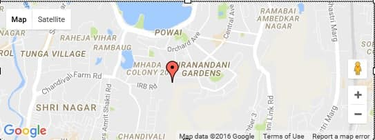 Hiranandani maple location