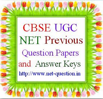 UGC NET Questions and Answers