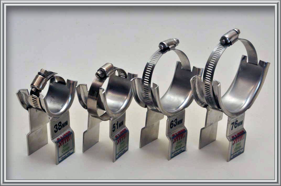 Dairy Pipe Clips Stainless Dairy Pipe Clamps