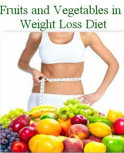 Fruits and vegetables Helps to reduce weight Fast