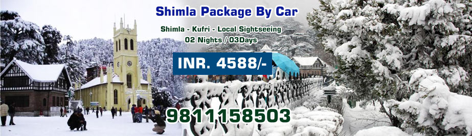 Shimla Package By Car