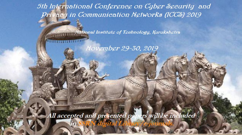 SCOPUS indexed 5th International Conference on Cyber