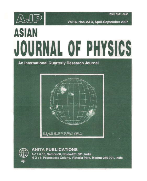 AJP Vol 16 No 2&3, 2007