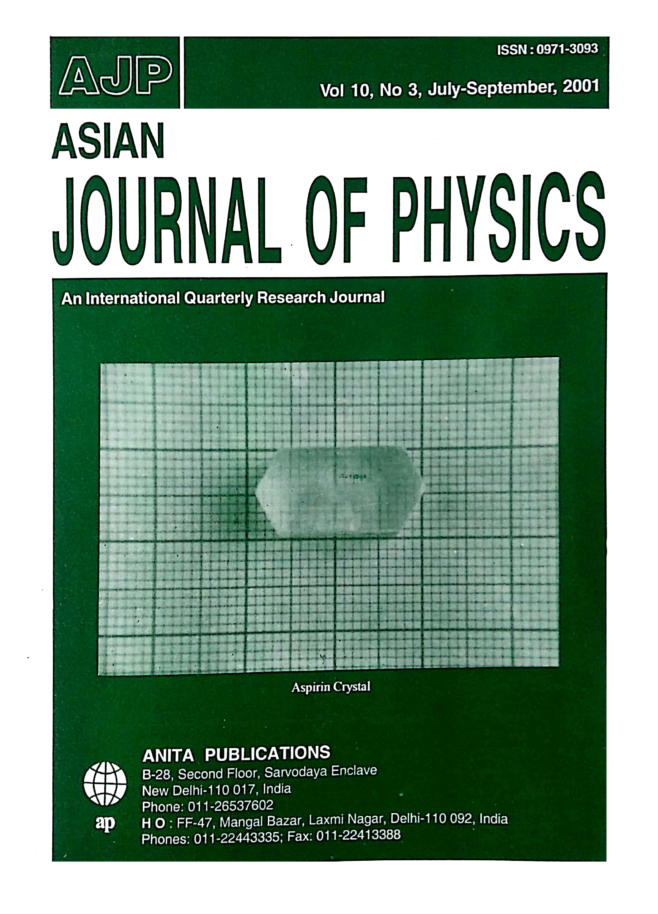AJP Vol 10 No 3 2001
