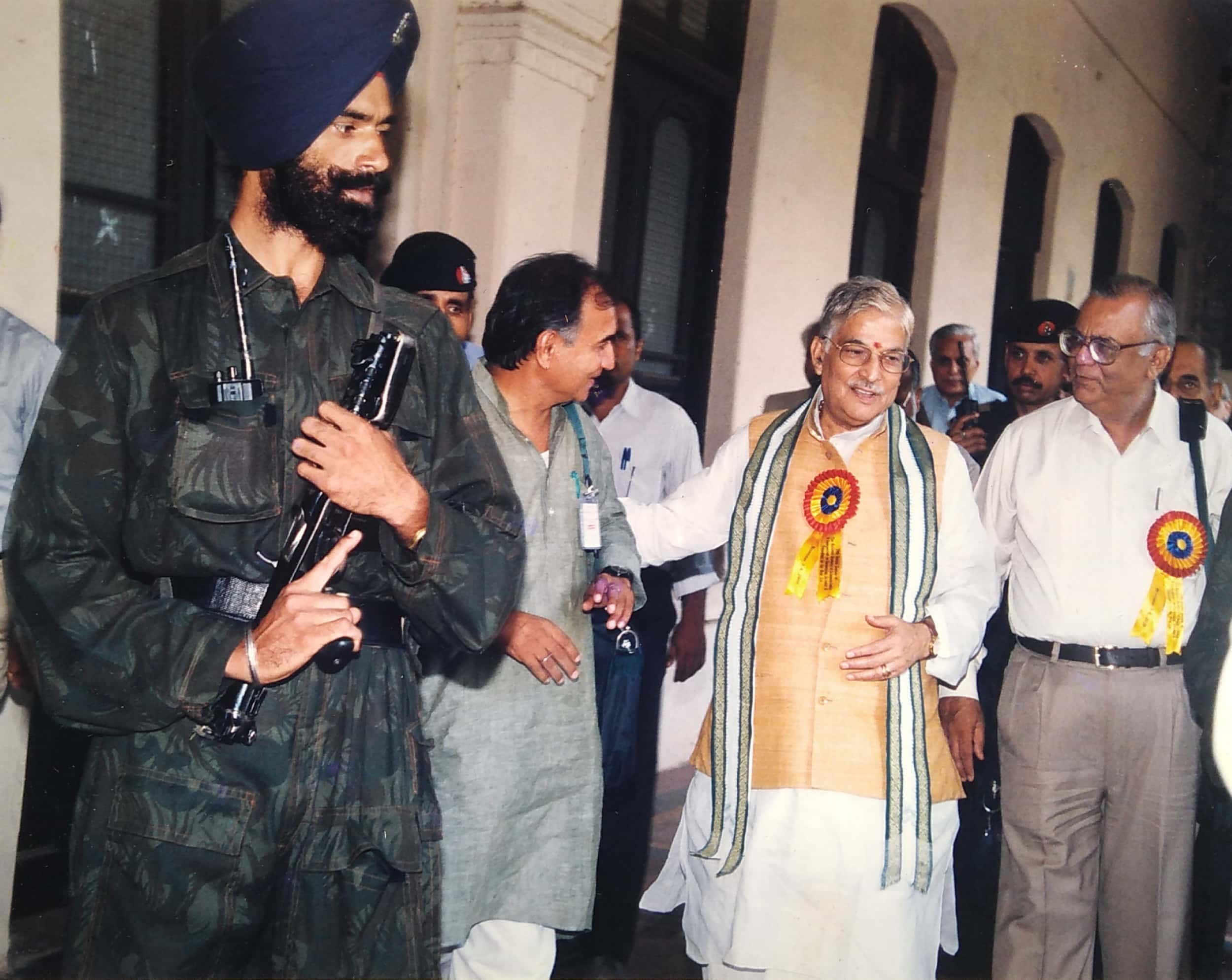 Dr Murli Manohar Joshi and V K Rastogi
