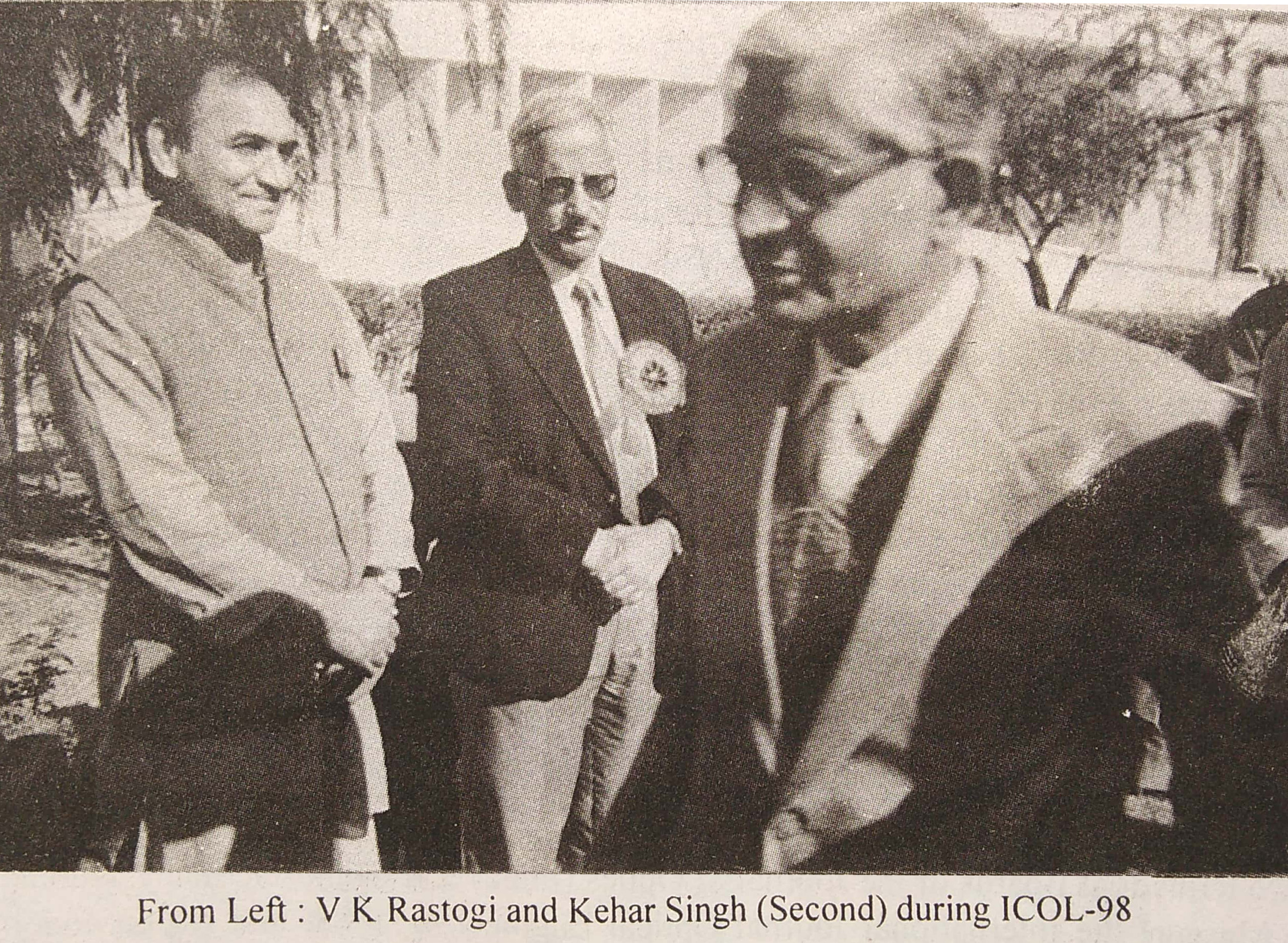 ICOL-98 VK Rastogi and Kehar Singh