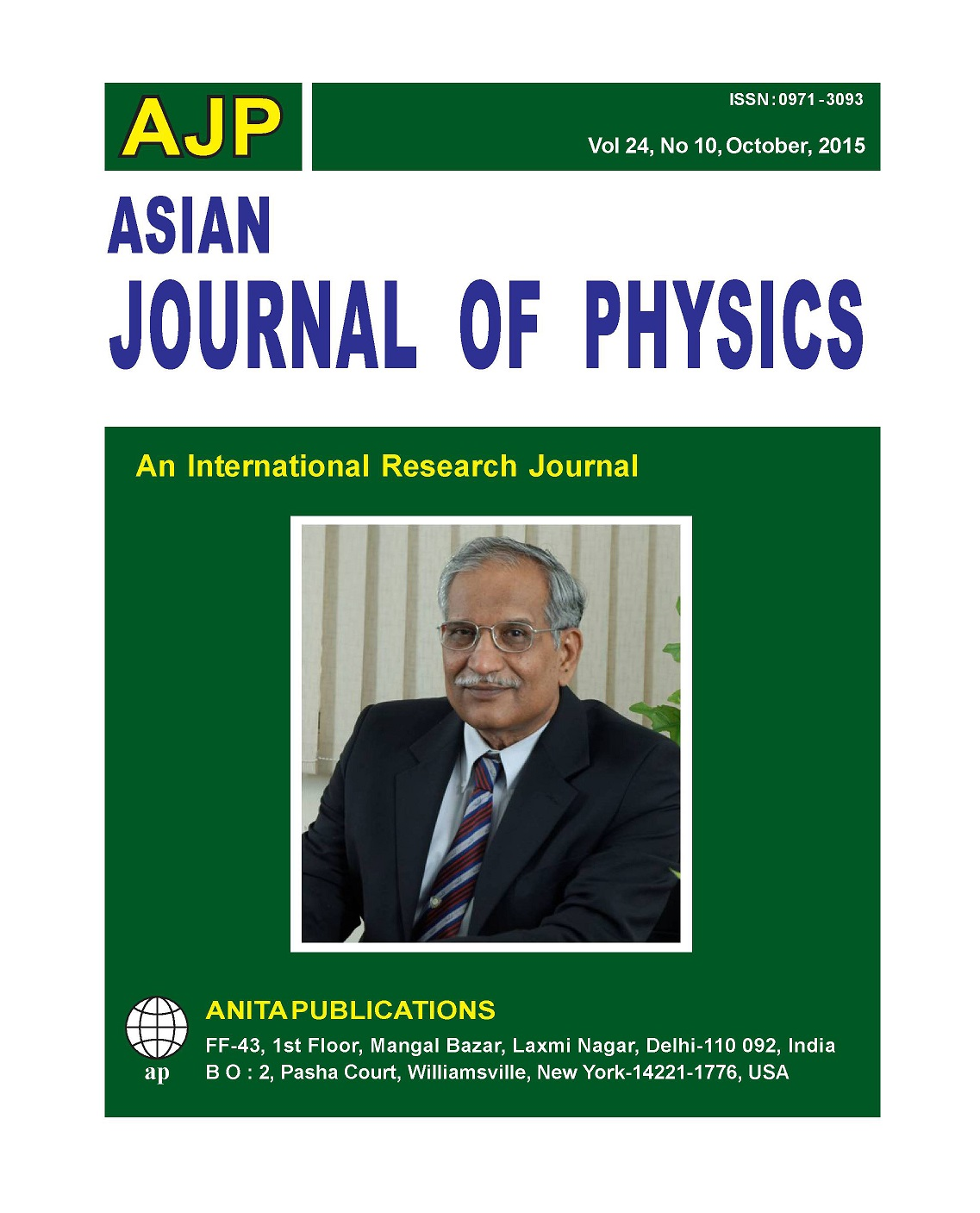 AJP Vol. 24 No 1, 2015