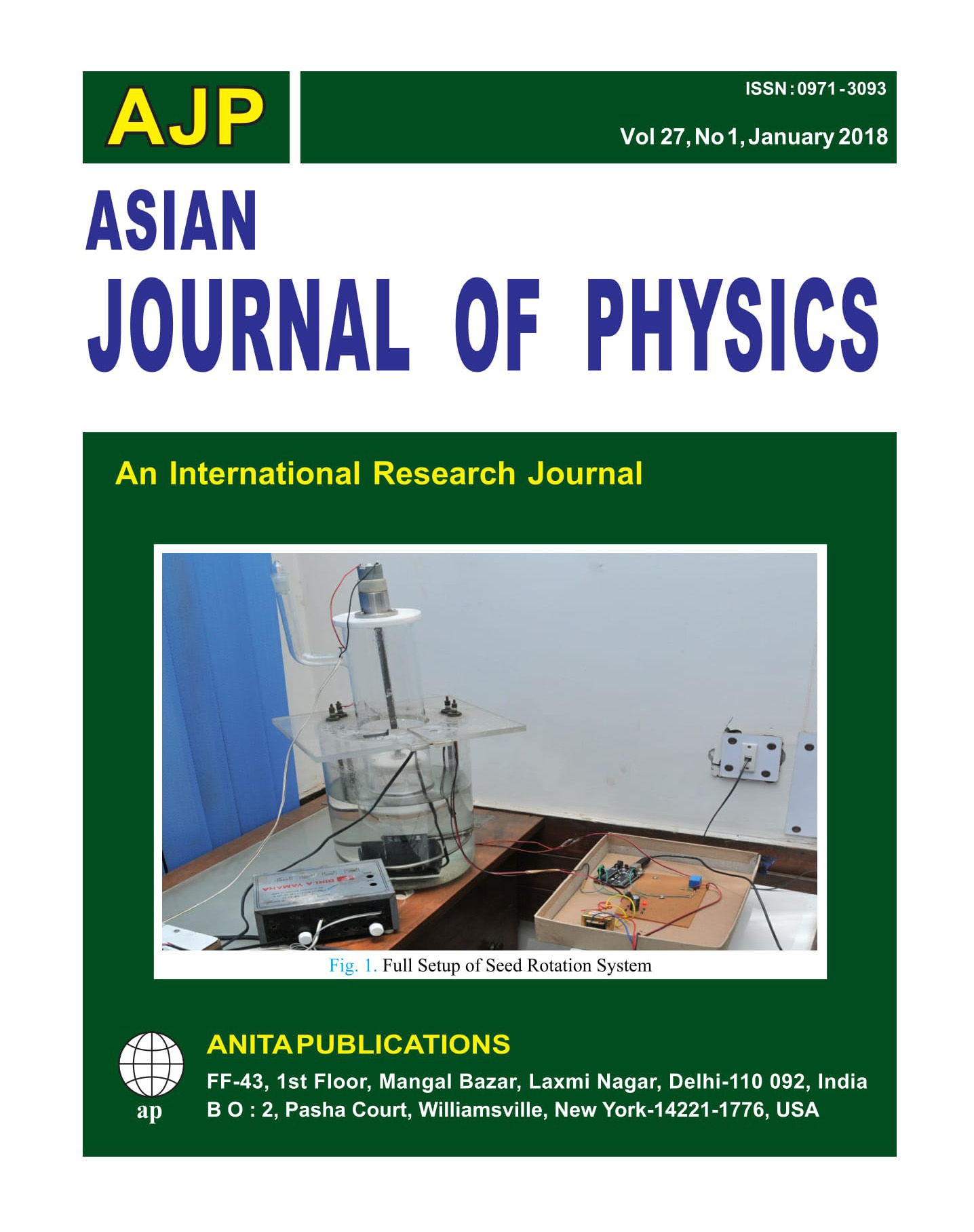 AJP Vol 27 No 1, 2018