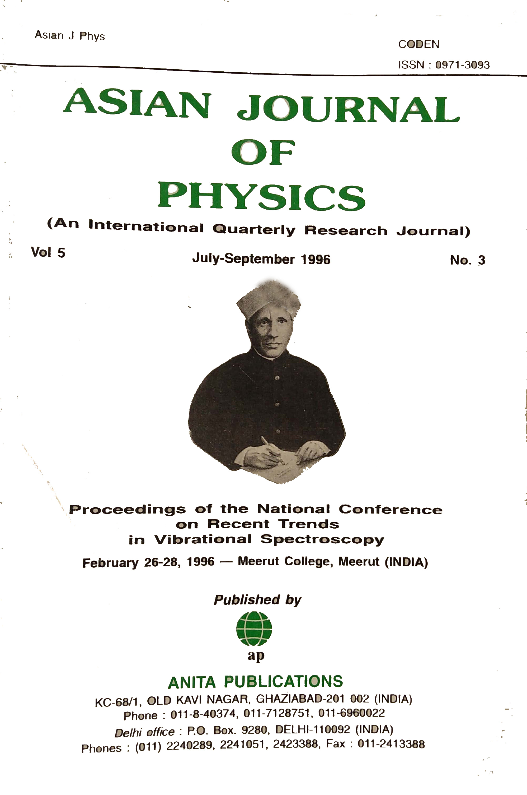 AJP Vol 5 No 3, 1996