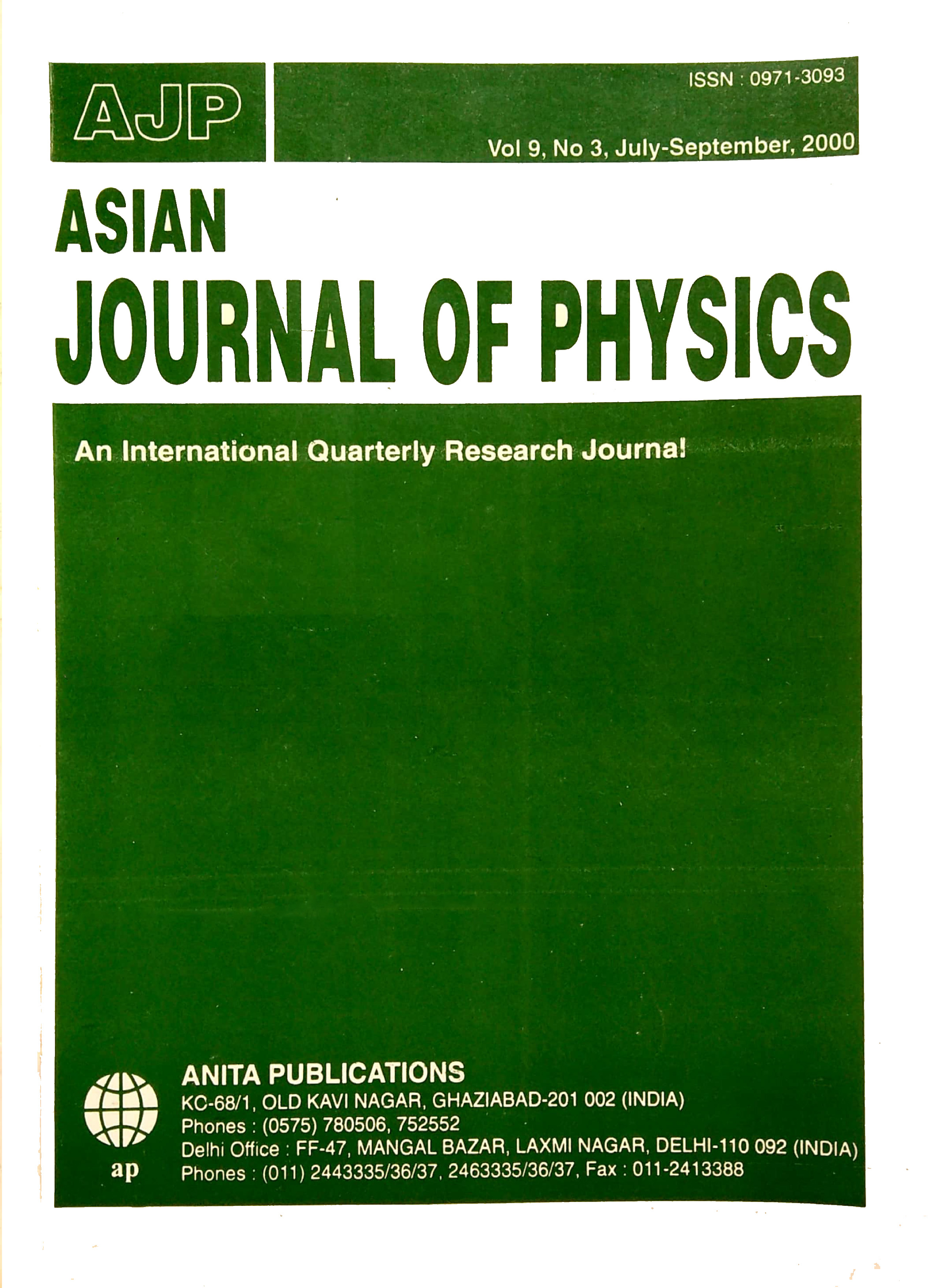 AJP Vol 9 No 3, 2000