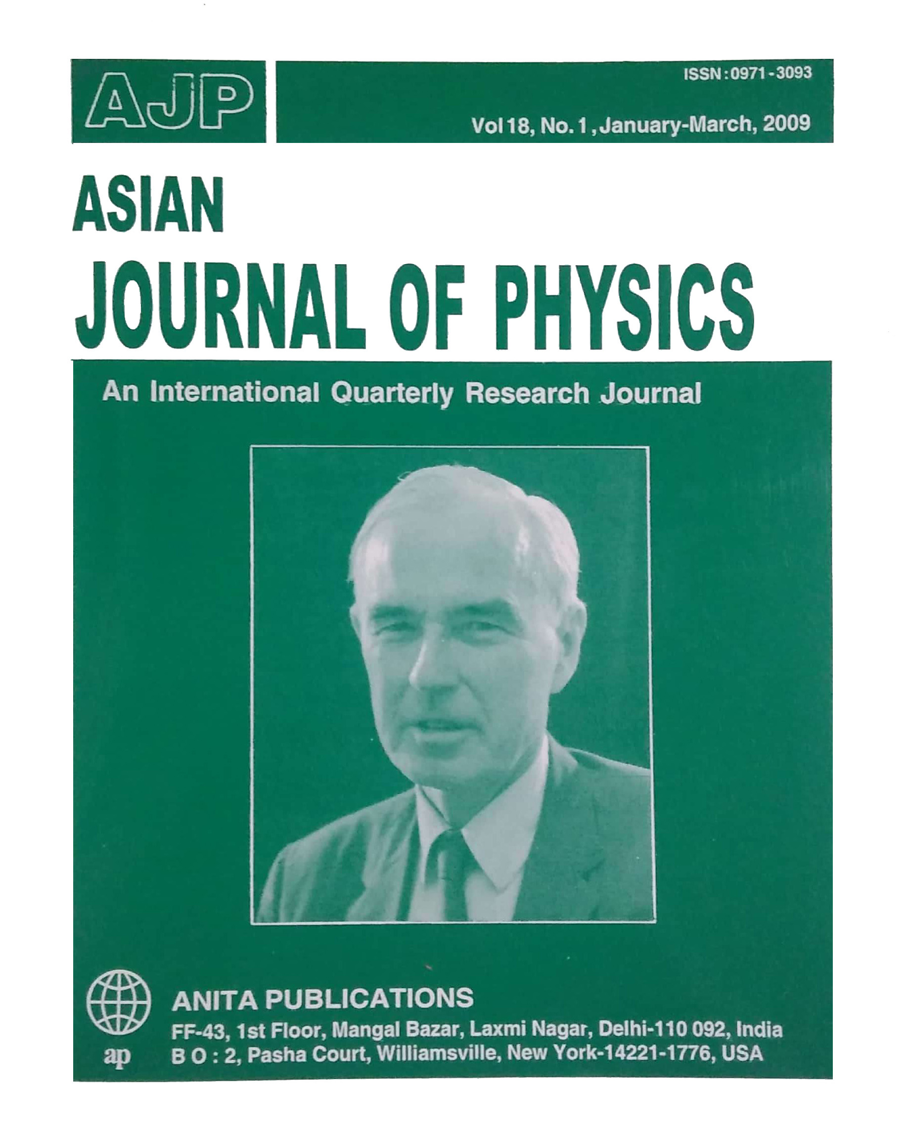 AJP Vol 18 No 1, 2009
