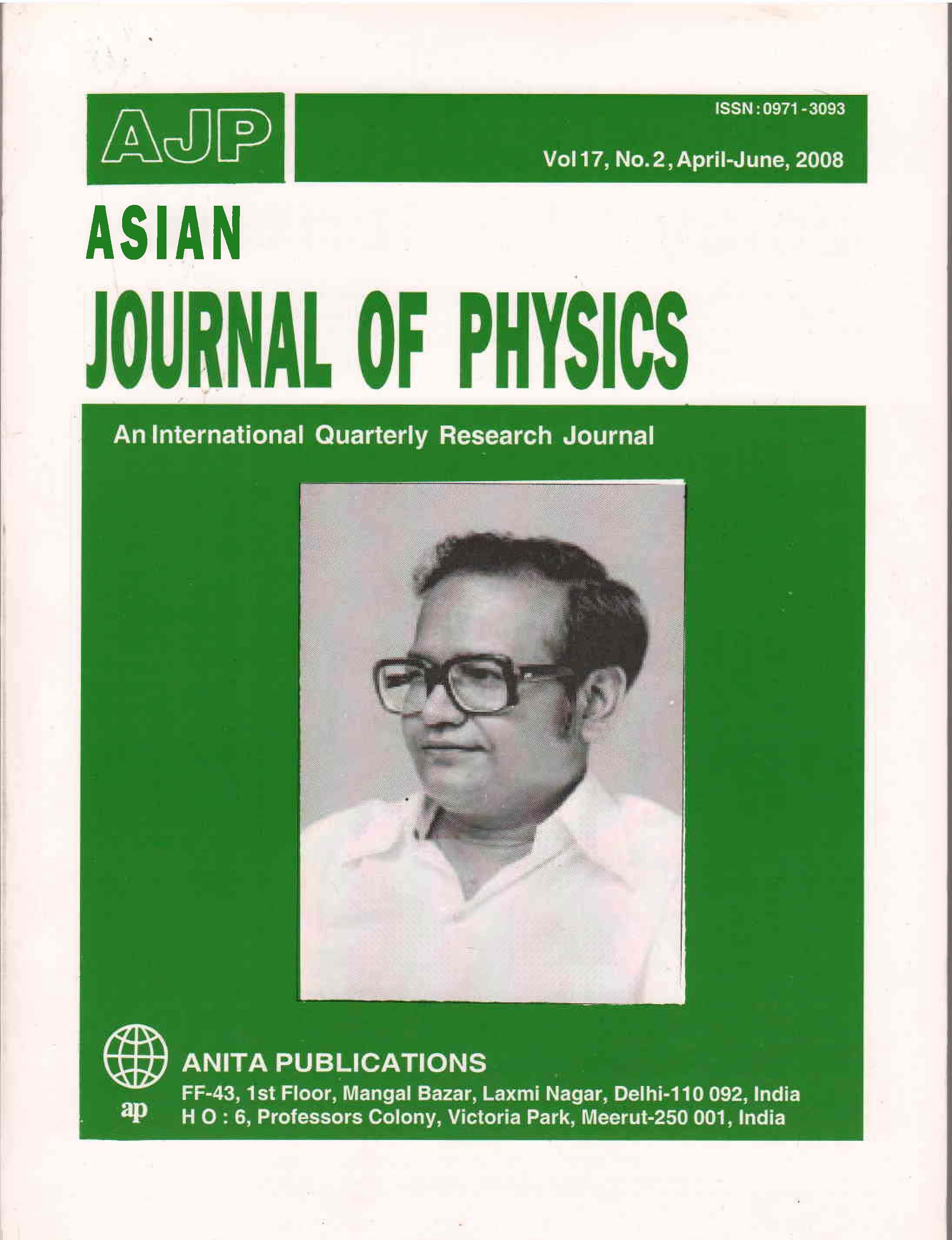 AJP Vol 17 No 2, 2008
