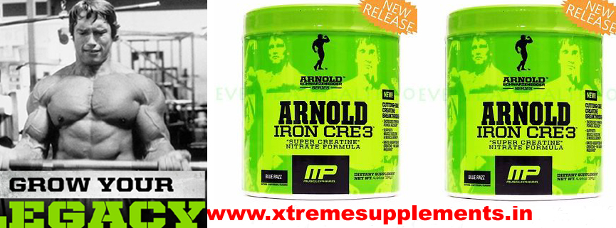 ARNOLD IRON CRE3 SUPER CREATINE NITRATE FORMULA PRICE INDIA