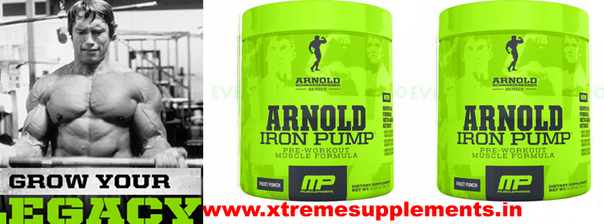 ARNOLD NUTRITION IRON PUMP BEST PRE WORKOUT PRICE INDIA