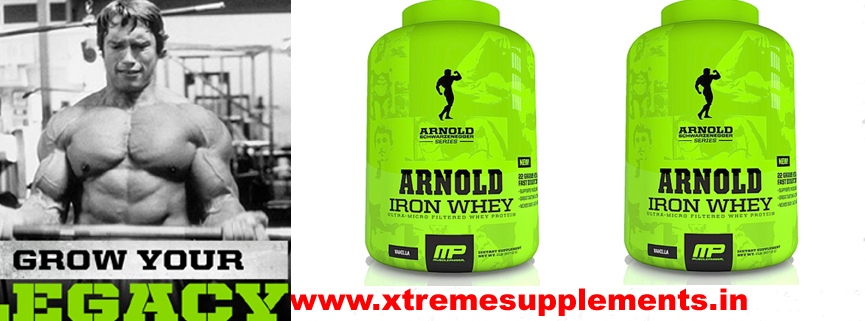 MUSCLEPHARM ARNOLD SERIES ARNOLD IRON WHEY TOP 10 WHEY PROTEINS IN INDIA