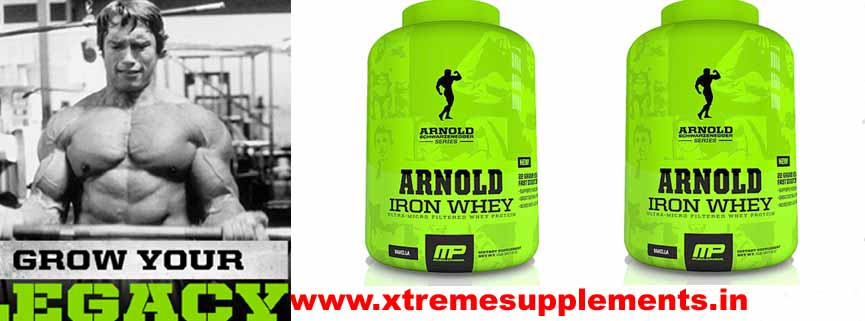 MUSCLEPHARM ARNOLD SERIES IRON WHEY PRICE INDIA