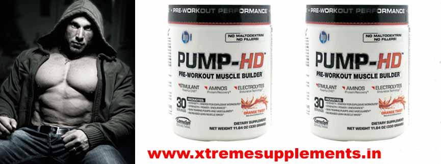 BPI PUMP HD PRE WORKOUT PERFORMANCE 330 GMS