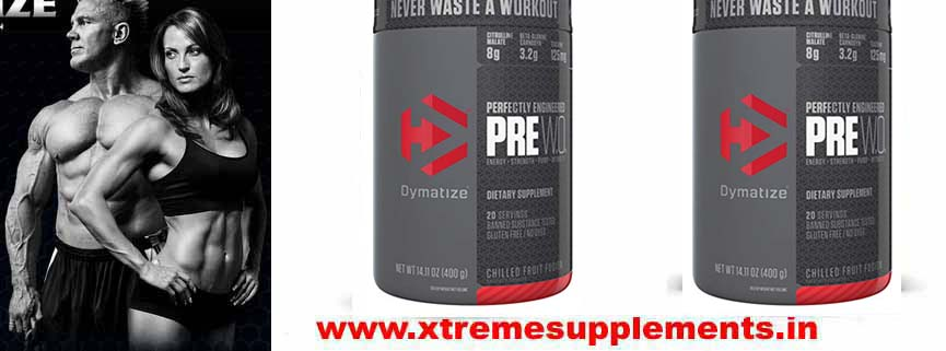 DYMATIZE PRE W.O. PRE WORKOUT PRICE INDIA