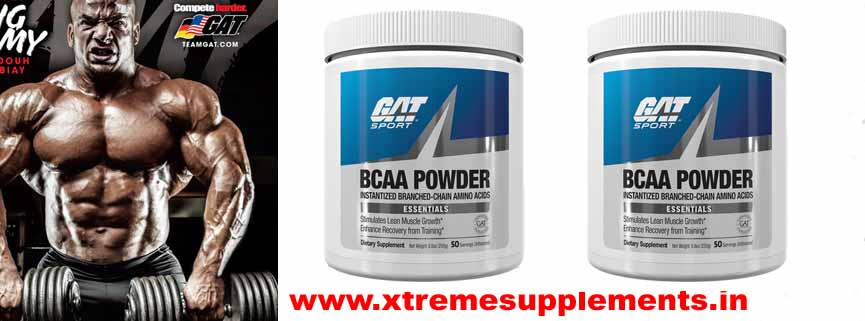 GAT BCAA POWDER UNFLAVOURED 50 SERVINGS PRICE INDIA