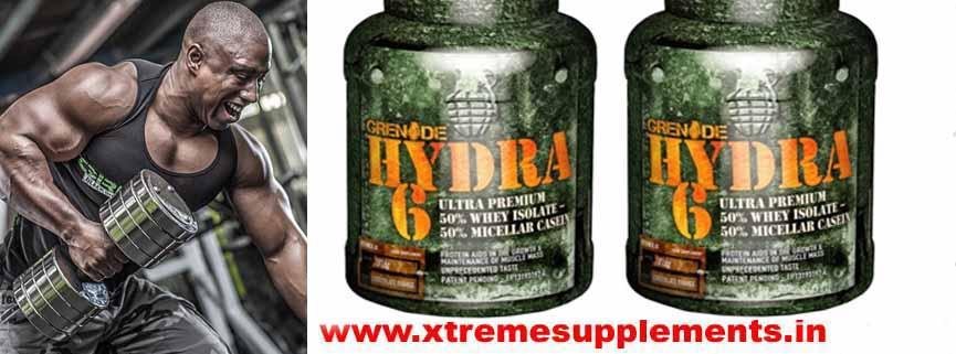 GRENADE HYDRA 6 WHEY PRICE INDIA