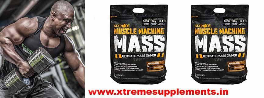 GRENADE MUSCLE MACHINE MASS GAINER 12.6 LBS PRI