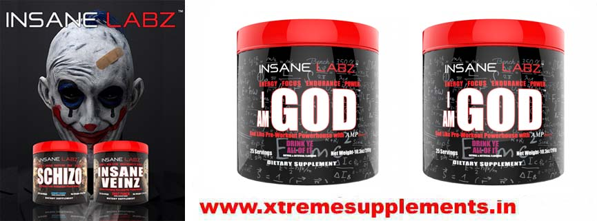 INSANE LABZ I AM GOD PREWORKOUT INDIA PRICE