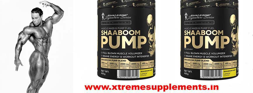 KEVIN LEVRONE SHABOOM PUMP 30 SERVINGS PRICE INDIA