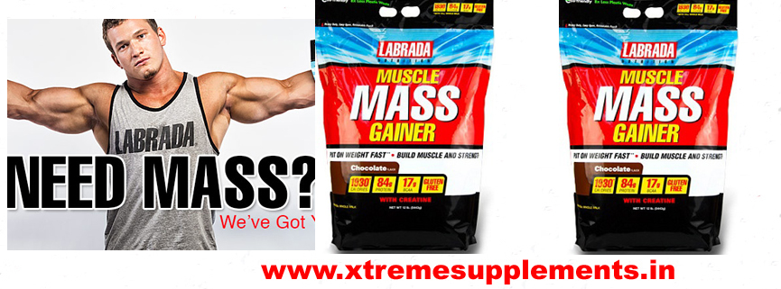 LABRADA MUSCLE MASS GAINER 12 LBS  TOP 10 WEIGHT GAINER IN INDIA
