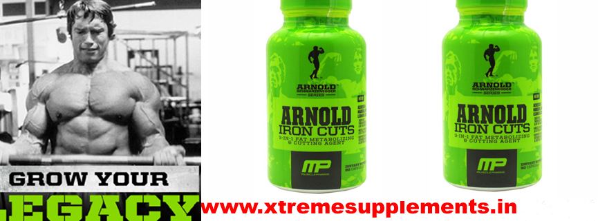 MUSCLEPHARM ARNOLD IRON CUTS FAT BURNER PRICE INDIA