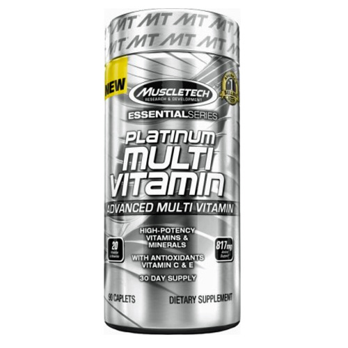 MUSCLETECH ESSENTIAL SERIES PLATINUM MULTIVITAMIN DELHI INDA