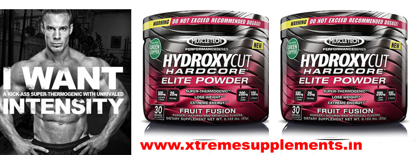 MUSCLETECH HYDROXYCUT HARDCORE ELITE POWDER PRICE INDIA